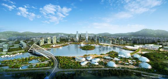 中新广州知识城主城区城市设计深化及控制性详细规划